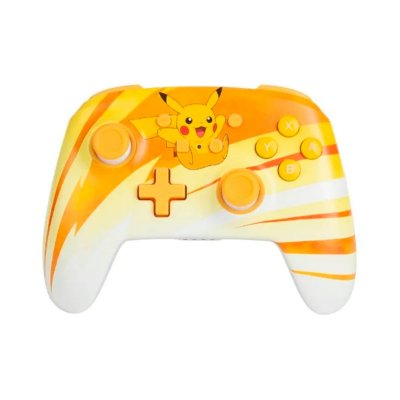 Controle Enhanced Wireless Controller Pikachu Joy - Switch