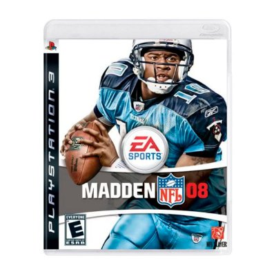 Jogo Madden NFL 08 - PS3 Seminovo