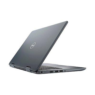 """Notebook Dell 2 em 1 Inspiron 14 Core I5-8265U 8° Geração 8GB RAM 120GB SSD 14"""" Seminovo"""
