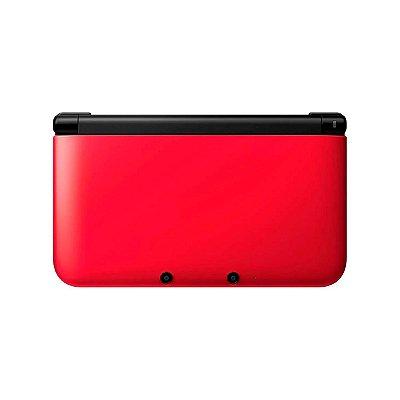 Console Nintendo 3DS XL + Jogos Digitais Vermelho Seminovo