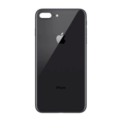 Pç Apple Tampa Traseira iPhone 8 Plus Preto com Estrutura