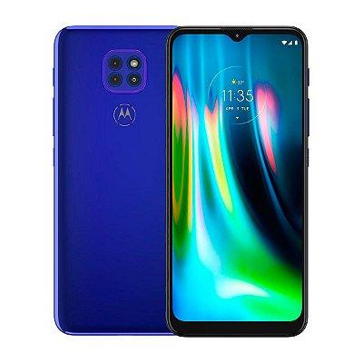 Smartphone Motorola Moto G9 Play 64GB 4GB Azul Seminovo