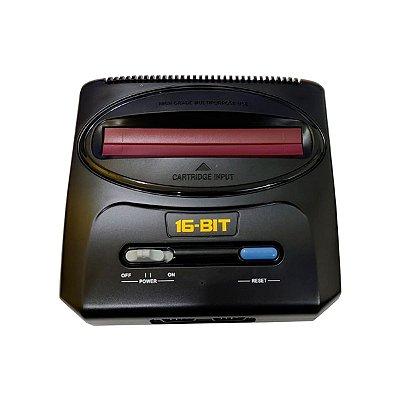 Console Mega Drive 16 Bit Preto