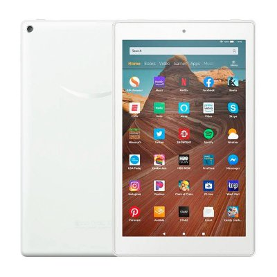Tablet Amazon Fire HD10 64GB 2GB 9º Geração 1080p Alexa Branco - 2019