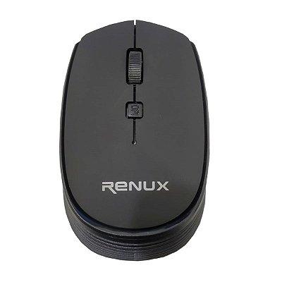 Mouse Renux Sem Fio RE 515 Preto C1N