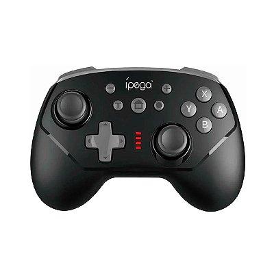 Controle Ípega Sem Fio PG-9162B Preto - Nintendo C1