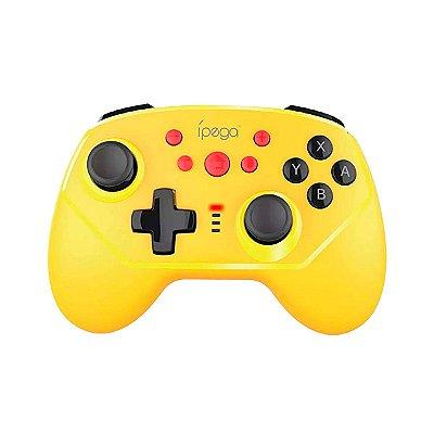 Controle Ípega Sem Fio PG-9162Y Amarelo - Nintendo C1
