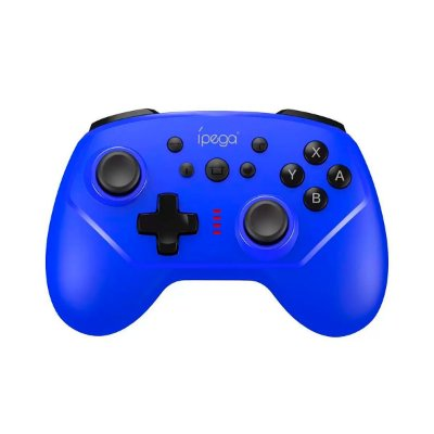 Controle Ípega Sem Fio PG-9162A Azul- Nintendo C1