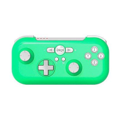 Controle Ípega Sem Fio PG-SW021D Verde - Nintendo / Android / PC / PS3 C1