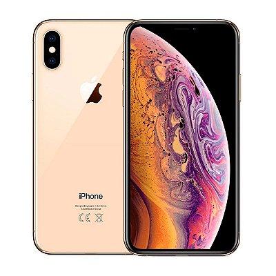 Smartphone Apple iPhone XS Max 64GB 4GB Dourado Seminovo