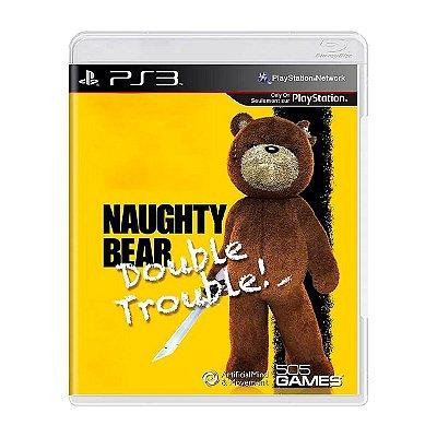 Jogo Naughty Bear Double Trouble - PS3 Seminovo