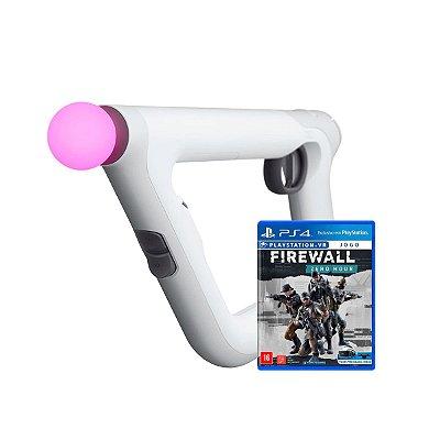 Aim Controller PlayStation VR + Jogo Firewall Zero Hour -PS4