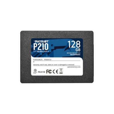 "HD Interno SSD 120GB Patriot P210 2.5"""