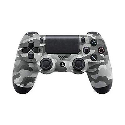 Controle DualShock 4 Camuflagem Cinza - PS4 (Seminovo)