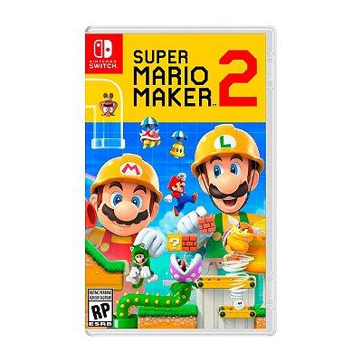 Jogo Super Mario Maker 2 - Switch Seminovo