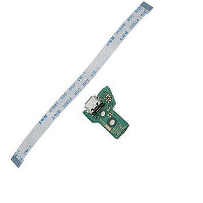 Pç PS4 Controle PCB USB com cabo JDS040