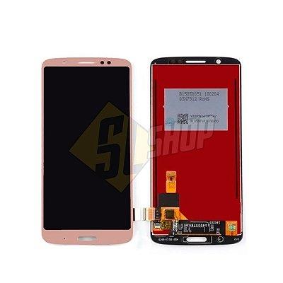 Pç Motorola Combo Moto G6 Plus Dourado Sem Aro