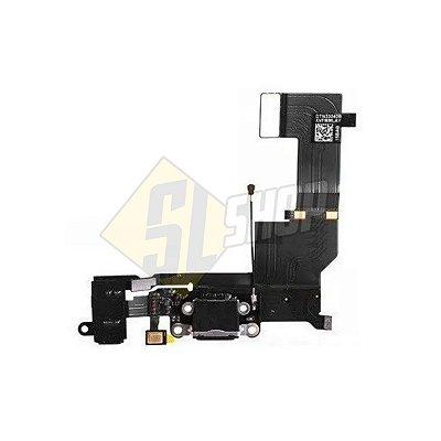 Pç Apple Flex Carga USB iPhone 5SE Preto