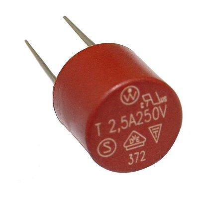 Pç Micro Fusível TR5 382 Cilíndrico T5A 250 V 5A
