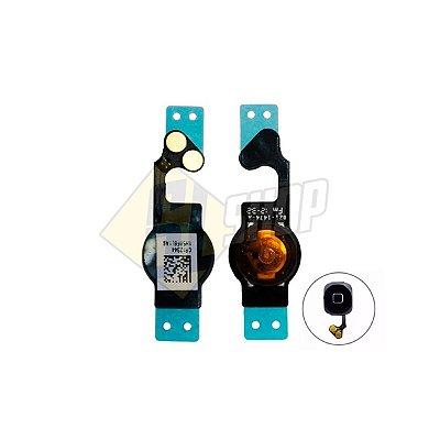 Pç Apple Flex Home iPhone 5 Preto (Com Botão)