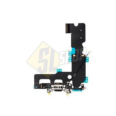 Pç Apple Flex Carga USB iPhone 7 Plus Preto