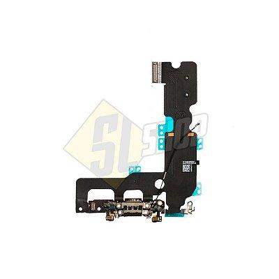 Pç Apple Flex Carga USB iPhone 7 Preto