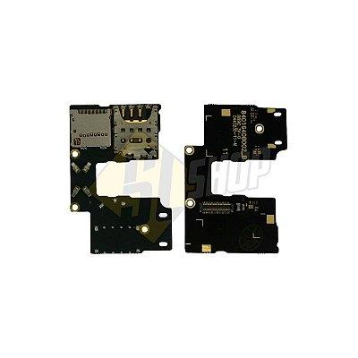 Pç Motorola Conector Chip Slot Moto G3