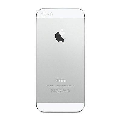 Pç Apple Tampa Traseira iPhone 5s Branco  com Estrutura