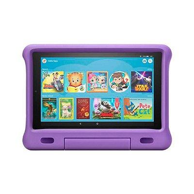 Tablet Amazon Fire HD7 16GB Kids Alexa Roxo