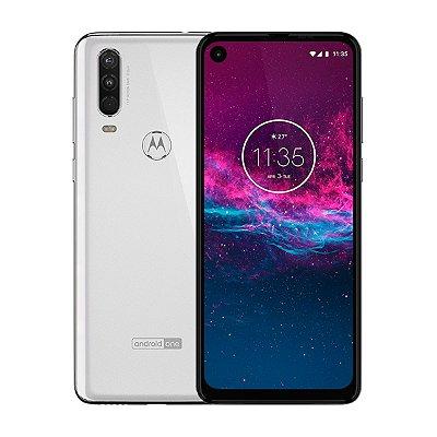 Smartphone Motorola One Action 128GB 4GB Branco Seminovo