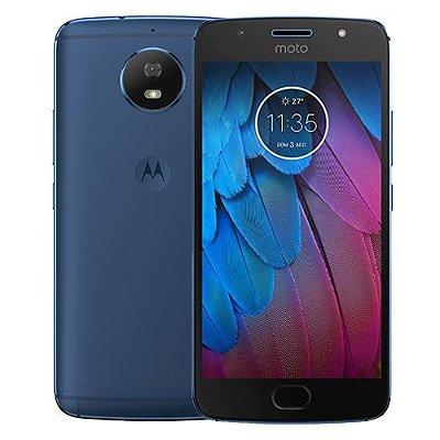 Smartphone Motorola Moto G5s Dual 32GB 2GB Azul Seminovo