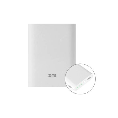 Carregador Portátil Xiaomi ZMi Roteador 7800 mAh Branco