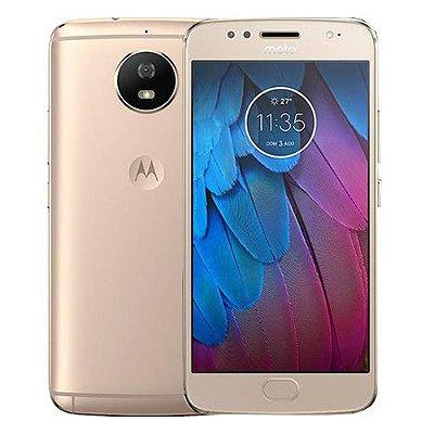 Smartphone Motorola Moto G5S Dual 32GB 2GB Dourado Seminovo