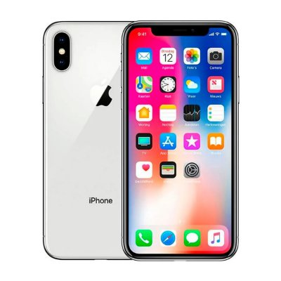 Smartphone Apple iPhone X 64GB 3GB Branco Seminovo