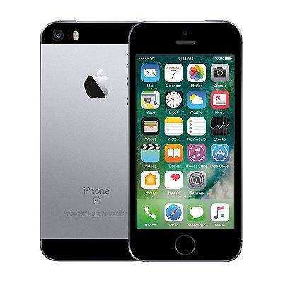 Smartphone Apple iPhone SE 2016 128GB 2GB Prata (Seminovo)