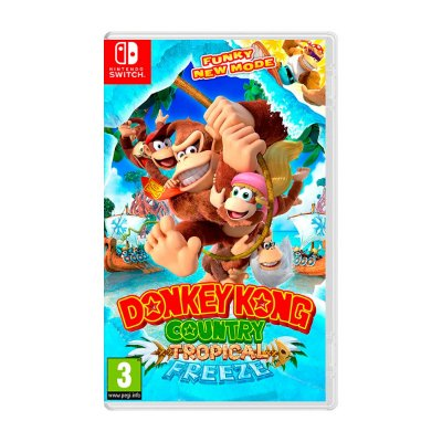 Jogo Donkey Kong Country Tropical Freeze - Switch Seminovo