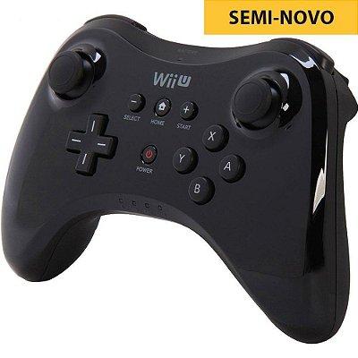 Controle Pro Oficial - Wii U Seminovo