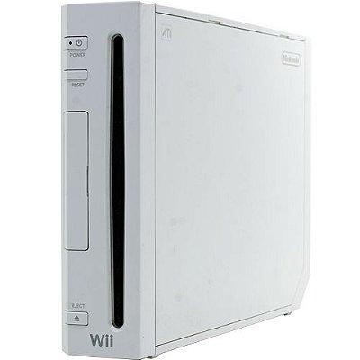 Console Nintendo Wii + 1 Controle Seminovo