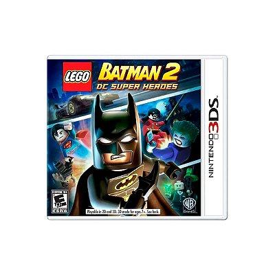 Jogo Batman 2 DC super heroes  - 3DS Seminovo