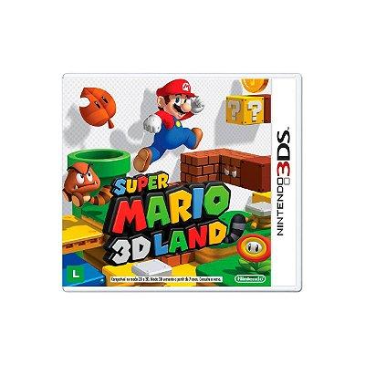 Jogo Super Mario 3d Land - 3DS Seminovo