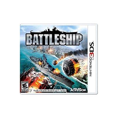 Jogo Battleship - 3DS Seminovo