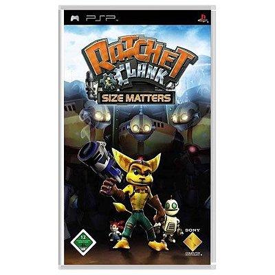 Jogo Ratchet Clank Size Matters - PSP Seminovo