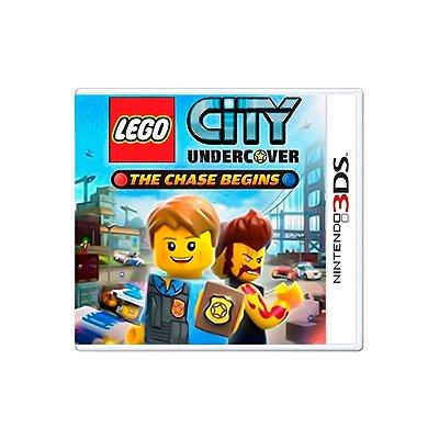 Jogo Lego city undercover - 3DS Seminovo