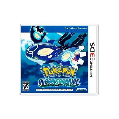 Jogo Pokémon Alpha Sapphire - 3DS Seminovo