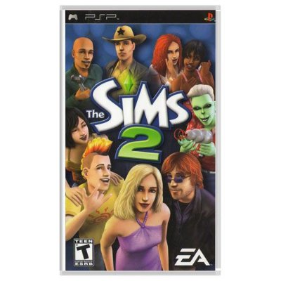 Jogo The Sims 2 - PSP Seminovo