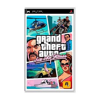 Jogo Gran Theft Auto Vice City Stories - PSP Seminovo