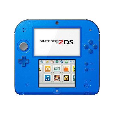 Console Nintendo 2DS 4GB + Jogos Digitais 110V / Seminovo