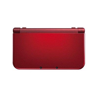Console Nintendo New 3DS XL + Jogos Digitais Vermelho Seminovo