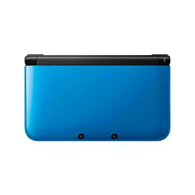 Console Nintendo 3DS XL Azul + Jogos Digitais - Seminovo