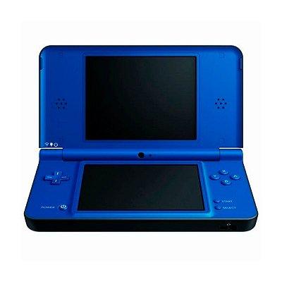 Console Nintendo DSi XL Azul + 170 Jogos Digitais (Seminovo)